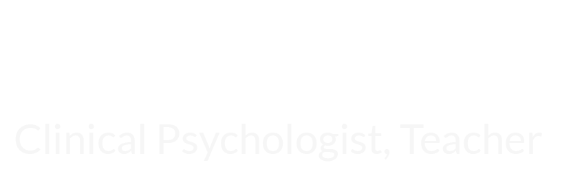 Dr. Keith Witt: Clinical Psychologist, Teacher